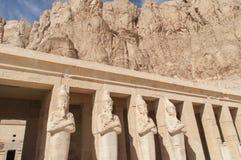 Καταστροφές του αρχαίου αιγυπτιακού ναού Στοκ εικόνα με δικαίωμα ελεύθερης χρήσης