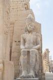 Καταστροφές του αρχαίου αιγυπτιακού ναού Στοκ Φωτογραφίες