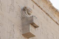 Καταστροφές του αρχαίου αιγυπτιακού ναού Στοκ Εικόνες