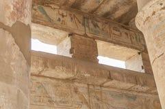 Καταστροφές του αρχαίου αιγυπτιακού ναού Στοκ Εικόνα