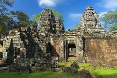 Καταστροφές του αρχαίου ναού σε Angkor Καμπότζη Στοκ εικόνες με δικαίωμα ελεύθερης χρήσης