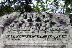 Καταστροφές του αρχαίου ναού Beng Mealea στην Καμπότζη Στοκ εικόνες με δικαίωμα ελεύθερης χρήσης