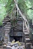 Καταστροφές του αρχαίου ναού Beng Mealea στην Καμπότζη Στοκ Εικόνες