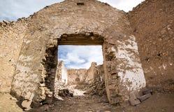 Καταστροφές του αρχαίου χωριού του San Antonio de Lipez στη Βολιβία Στοκ Εικόνα