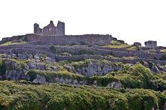 Καταστροφές του κάστρου Ο ` Brien ` s σε Inisheer, νησιά Aran, Ιρλανδία Στοκ Φωτογραφία