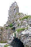 Καταστροφές του κάστρου Ο ` Brien ` s σε Inisheer, νησιά Aran, Ιρλανδία Στοκ Φωτογραφίες