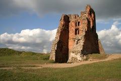 Καταστροφές του κάστρου στην πόλη Novogrudok, στη Λευκορωσία στοκ φωτογραφία με δικαίωμα ελεύθερης χρήσης