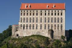 Καταστροφές του κάστρου Plumlov Στοκ Εικόνες