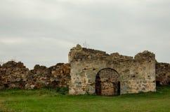 Καταστροφές του κάστρου Pnivskyy Στοκ Εικόνες