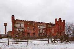 Καταστροφές του κάστρου Shaaken Στοκ Εικόνες