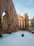 Καταστροφές του καθεδρικού ναού Franziskaner Klosterkirche, Βερολίνο Στοκ Εικόνες