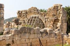 Καταστροφές του λιμενικού λουτρού στην αρχαία πόλη Patara Lycian Επαρχία Antalya Στοκ εικόνα με δικαίωμα ελεύθερης χρήσης