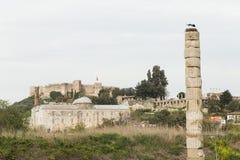Καταστροφές του ναού της Artemis Στοκ Φωτογραφίες