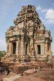 Καταστροφές του ναού TA Keo στην αρχαία πόλη Angkor Στοκ εικόνα με δικαίωμα ελεύθερης χρήσης