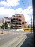 Καταστροφές του ΝΑΤΟ σε Βελιγράδι Στοκ φωτογραφία με δικαίωμα ελεύθερης χρήσης