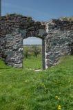 Καταστροφές του παλαιού κάστρου στη δυτική Ουκρανία Στοκ Εικόνες