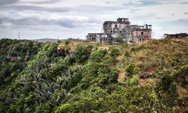 Καταστροφές του παλαιού κτηρίου σε Bokor, Καμπότζη Στοκ φωτογραφία με δικαίωμα ελεύθερης χρήσης