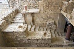 Καταστροφές του παλατιού Knossos Στοκ εικόνες με δικαίωμα ελεύθερης χρήσης