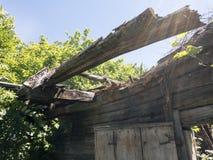 Καταστροφές του παλαιού φέουδου Στοκ Εικόνα