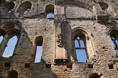 Καταστροφές του Ρότσεστερ Castle 12ες Castle και καταστροφές των οχυρώσεων Κεντ, νοτιοανατολική Αγγλία Στοκ εικόνες με δικαίωμα ελεύθερης χρήσης