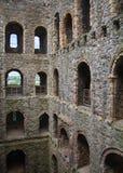 Καταστροφές του Ρότσεστερ Castle 12ες Castle και καταστροφές των οχυρώσεων Κεντ, νοτιοανατολική Αγγλία Στοκ φωτογραφίες με δικαίωμα ελεύθερης χρήσης