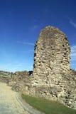 Καταστροφές του Ρότσεστερ Castle στην Αγγλία Στοκ Εικόνες