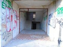 Καταστροφές του στρατιωτικού κτηρίου από το δεύτερο πόλεμο Κτήρια Armys στοκ φωτογραφίες με δικαίωμα ελεύθερης χρήσης