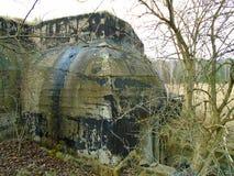 Καταστροφές του στρατιωτικού κτηρίου από το δεύτερο πόλεμο Κτήρια Armys στοκ εικόνες με δικαίωμα ελεύθερης χρήσης