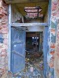 Καταστροφές του στρατιωτικού κτηρίου από το δεύτερο πόλεμο Κτήρια Armys στοκ εικόνες