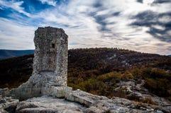 Καταστροφές του φρουρίου Thracian στοκ φωτογραφίες