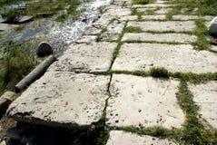 Καταστροφές του antic λιμανιού Milet, δευτερεύουσα Ασία, Τουρκία, ελληνική αποικία Στοκ φωτογραφία με δικαίωμα ελεύθερης χρήσης