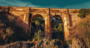 Καταστροφές του aquaduct Στοκ εικόνα με δικαίωμα ελεύθερης χρήσης