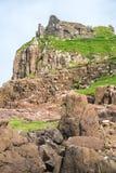Καταστροφές του Castle Duntulm, Σκωτία, UK στοκ εικόνες