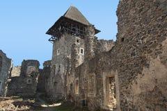 Καταστροφές του Castle Nevytske πλησίον του Transcarpathian κέντρου περιοχών, φωτογραφία Uzhgorod 13$ες χτισμένες nevitsky καταστ Στοκ εικόνες με δικαίωμα ελεύθερης χρήσης