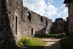 Καταστροφές του Castle Nevytske στη Transcarpathian περιοχή Φωτογραφία Uzhgorod Nevitsky Castle που ενσωματώνεται 13ος αιώνας Ουκ Στοκ φωτογραφία με δικαίωμα ελεύθερης χρήσης