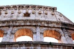 Καταστροφές του Colosseum της Ρώμης στην Ιταλία Στοκ εικόνα με δικαίωμα ελεύθερης χρήσης