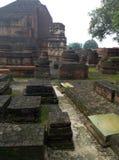 Καταστροφές του nalanda στοκ εικόνες με δικαίωμα ελεύθερης χρήσης