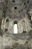 Καταστροφές του Okor Castle - στον πύργο Στοκ Εικόνες