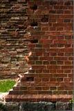 Καταστροφές τούβλου Στοκ εικόνα με δικαίωμα ελεύθερης χρήσης