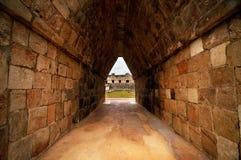 Καταστροφές των αρχαίων maya πόλεων στοκ εικόνα