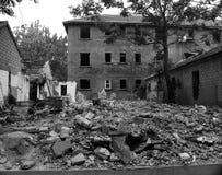 Καταστροφές των κτηρίων Στοκ εικόνες με δικαίωμα ελεύθερης χρήσης