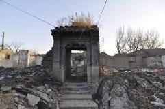 Καταστροφές των κτηρίων στοκ εικόνα με δικαίωμα ελεύθερης χρήσης