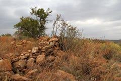 Καταστροφές των πέτρινων τακτοποιήσεων στοκ εικόνες με δικαίωμα ελεύθερης χρήσης