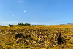 Καταστροφές των πυραμίδων της Pre-Columbian πόλης Teotihuacan, Μεξικό Στοκ φωτογραφία με δικαίωμα ελεύθερης χρήσης