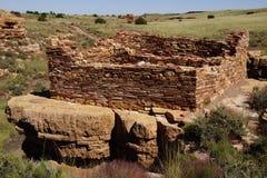 Καταστροφές των σπιτιών του Lomaki Pueblo Στοκ εικόνες με δικαίωμα ελεύθερης χρήσης