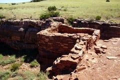 Καταστροφές των σπιτιών του Lomaki Pueblo Στοκ φωτογραφία με δικαίωμα ελεύθερης χρήσης