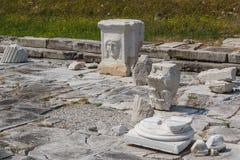 Καταστροφές φόρουμ στην αρχαία πόλη Aquileia Στοκ φωτογραφία με δικαίωμα ελεύθερης χρήσης