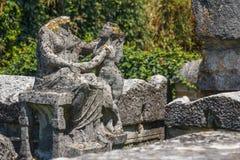 Καταστροφές φόρουμ στην αρχαία πόλη Aquileia Στοκ Εικόνα