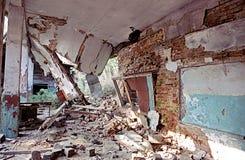 καταστροφές Στοκ Εικόνες