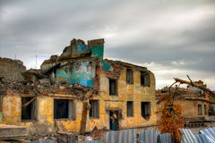 καταστροφές Στοκ φωτογραφία με δικαίωμα ελεύθερης χρήσης